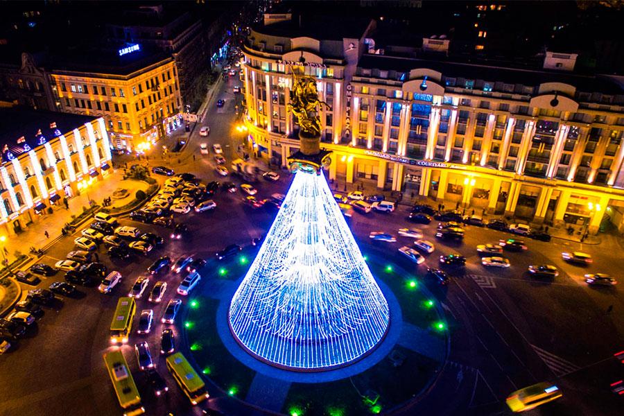 Грузия, Новий 2018 рік